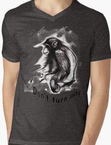 don't turn away Mens V-Neck T-Shirt