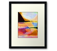 Color Field Framed Print