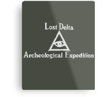 Lost Delta Expedition  Metal Print