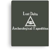 Lost Delta Expedition  Canvas Print