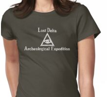 Lost Delta Expedition  Womens Fitted T-Shirt