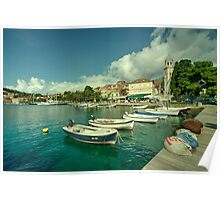 Cavtat Harbour  Poster