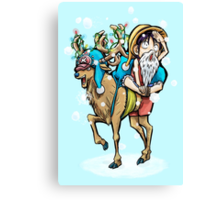 A One Piece Holiday Canvas Print