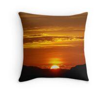 Koh Phra Nang Sunset Throw Pillow