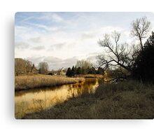 On Golden Pond. Canvas Print