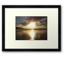 Patong Sunset Framed Print