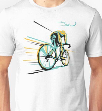 Vintage Paris Roubaix - Cycling Art Unisex T-Shirt