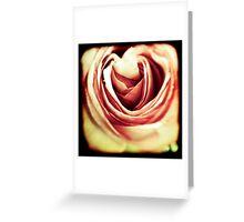Acid Rose Greeting Card