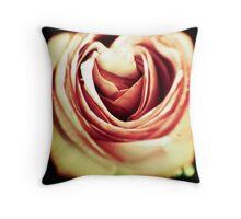 Acid Rose Throw Pillow