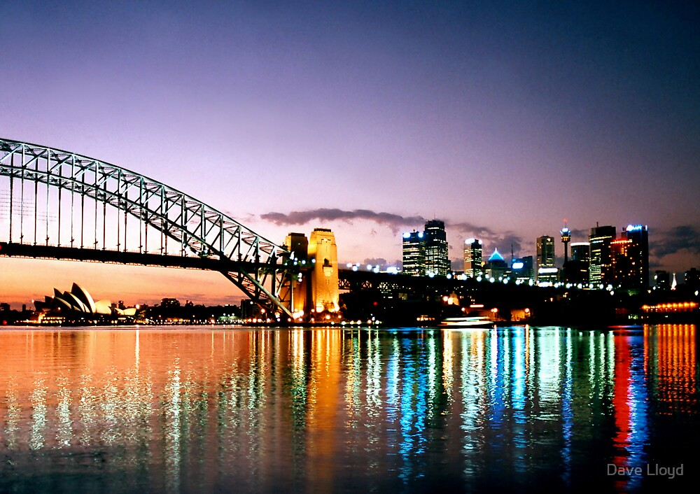 Sydney Reflections by Dave Lloyd