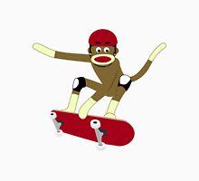 Sock Monkey Skateboarder Unisex T-Shirt