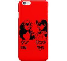 RYU & KEN iPhone Case/Skin