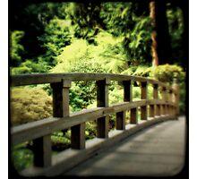 Zen Bridge Photographic Print