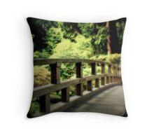 Zen Bridge Throw Pillow