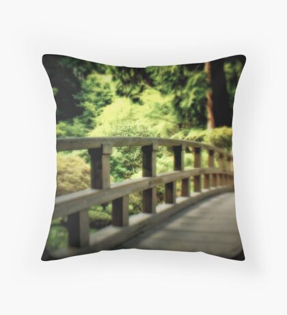 Zen Bridge Throw Pillow