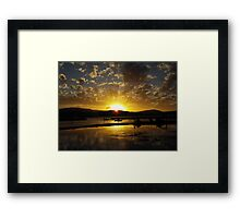 Airley Beach - Sunset ~  Framed Print