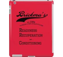 Brickma's Big League Pitcher Key 3 R's - Light iPad Case/Skin