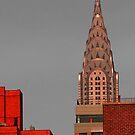 Evening Burn - Chrysler Building, New York City by Judith Oppenheimer