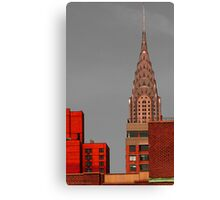 Evening Burn - Chrysler Building, New York City Canvas Print