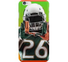 Miami Hurricanes Football Player iPhone Case/Skin