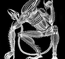 Alien - Bioluminescent Xenoscorpial version by Simon Breese