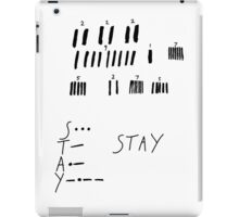 STAY - Interstellar iPad Case/Skin