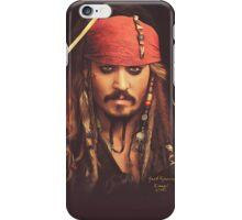 Jack Sparrow | Digital Painting  iPhone Case/Skin