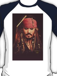 Jack Sparrow | Digital Painting  T-Shirt