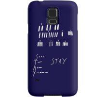 STAY - Interstellar - white Samsung Galaxy Case/Skin