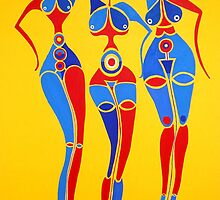 Les Trois Soeurs by Aissata