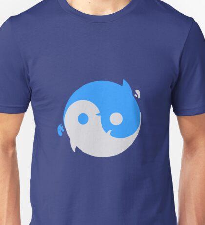 Yin yang whales Unisex T-Shirt