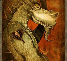 The dragon with the girl tattoo. by Lescot