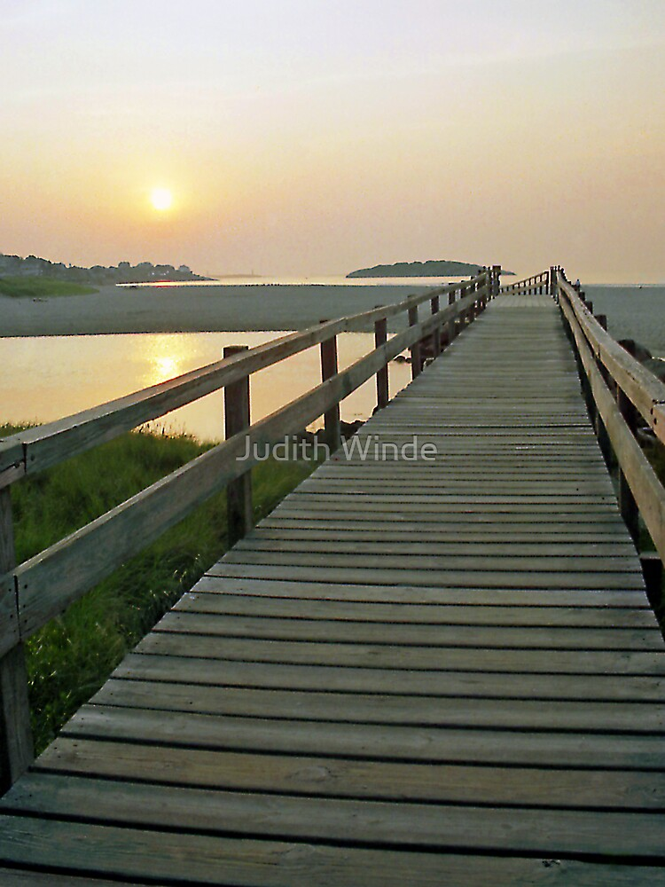 Crossing the Bridge by Judith Winde