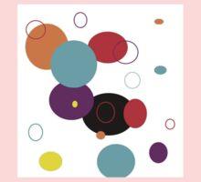 CIRCLES abstract Kids Tee