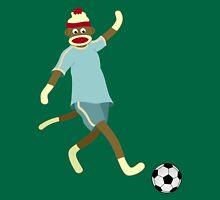 Sock Monkey Soccer Player Unisex T-Shirt