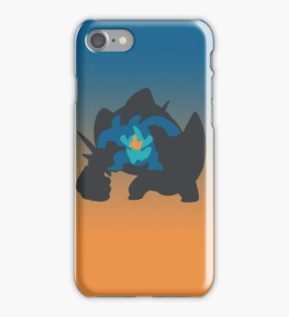 Mudkip Marshtomp Swampert Mega Swampert iPhone Case/Skin