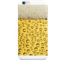 BEER bubbles and foam iPhone Case/Skin