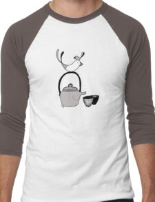 Tea4two Men's Baseball ¾ T-Shirt