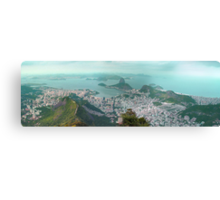 Sugar Loaf from Corcovado Canvas Print