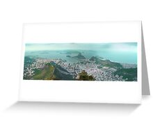 Sugar Loaf from Corcovado Greeting Card