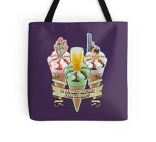 Three Flavours Cornetto Trilogy with banner Tote Bag