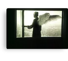 angel mama Canvas Print