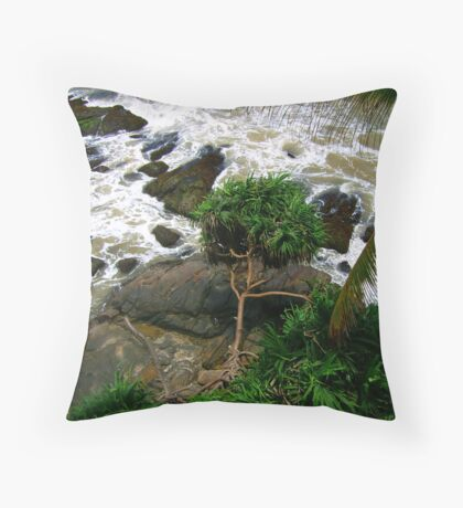 frothy Throw Pillow