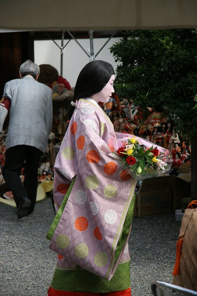 Doll Burning Ceremony - Guest Geisha III by Trishy