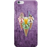 Three Favours Cornetto Trilogy iPhone Case/Skin