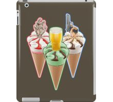 Three Favours Cornetto Trilogy iPad Case/Skin