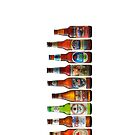 Beer Bottle collection by Tony  Bazidlo