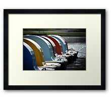 Icons Framed Print