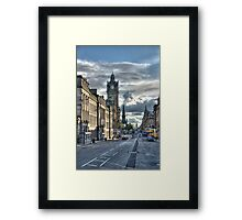 Edinburgh Streets Framed Print