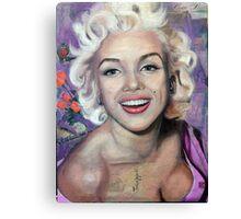 Alive (Marilyn Monroe) Canvas Print